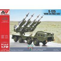 Missile S-125 Neva-SC (SA-3 Goa) sur châssis MAZ-543 1/72