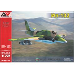IL-102 Avion expérimental d'attaque au sol 1/72