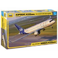 Zvezda 7037 - Avion de ligne Airbus A320 NEO 1/144