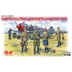 Pilotes et techniciens de l'armée de l'air de l'URSS (1943-1945) 1/48