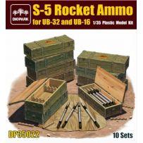 Munitions de fusée S-5 pour UB-32 et UB-16 1/35
