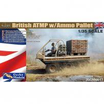 ATMP britannique avec palette de munitions 1/35