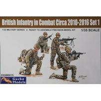 Infanterie britannique au combat 2010-12 Set 1 1/35