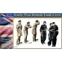 Équipage de chars britanniques de la Première Guerre mondiale 1/35
