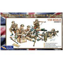 L'équipe MG britannique de la Seconde Guerre mondiale au combat 1/35