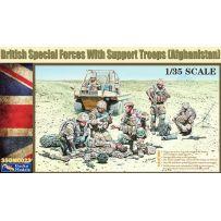 Forces spéciales britanniques avec troupes de soutien (Afgh.) 1/35