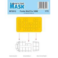 Focke Wulf Fw 189B Mask 1/72