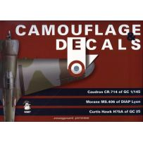 Camo and Decals Caudron CR.714 Morane Ms.406 Curtiss Hawk H75A 1/32