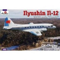 Ilyushin IL-12 Coach Soviet cargo air. 1/144