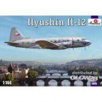 Ilyushin IL-12 Czech airliner 1/144