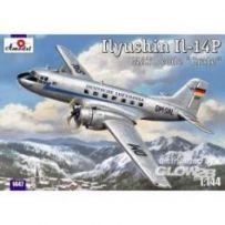 Ilyushin IL-14P DDR Lufthansa civil airc 1/144