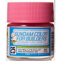 Gundam Color For Builders (10ml) TRANS-AM HIGHLIGHT RED