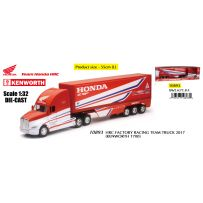 HRC Factory Racing Team Truck 2017 (Kenworth T700) 1/32