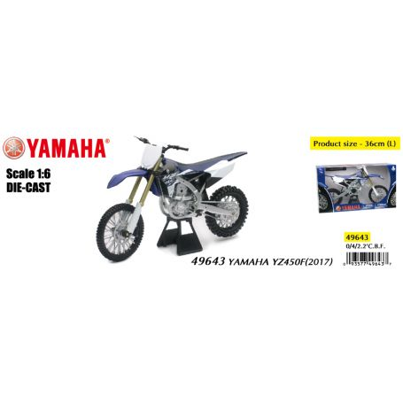 New Ray 49643 - Yamaha YZ450F Cross 2017 1/6