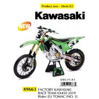 Factory Kawasaki Race Team KX450 2019 N3 Eli Tomac 1/6