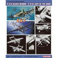 P-61A Black Window/ P-61B Lady of the Dark 1/72