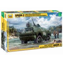 Véhicule blindé de reconnaissance et de patrouille Soviétique BRDM-2 1/35