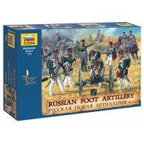 Artillerie à pied Russe 1812 (édition limitée) 1/72