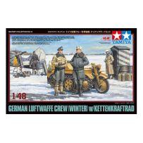 Personnel Luftwaffe + Kettenkrad 1/48