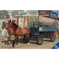 Heeresfeldwagen 7 Stahlausführung 1/35