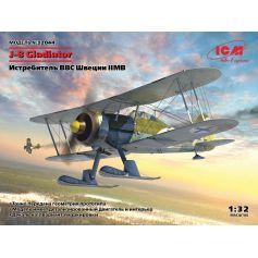 Gladiateur J-8 Chasseur de l'Armée de l'Air Suédoise 2E. G.M. 1/32