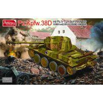 Panzer 38d Mit Pz.Iv Turm Und 8cm Paw600 1/35