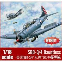 SBD-3/4 Dauntless 1/18