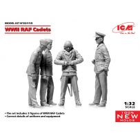 WWII RAF Cadets (100% new molds) 1/32
