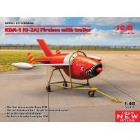 (KDA-1) Firebee with trailer (1 airplane and trailer) 1/48