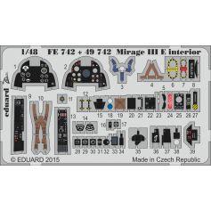 Mirage III E interior 1/48