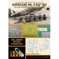 WH Hawker Hurricane MKII RAF1942 1/32