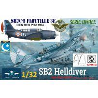 INFINITY MODELS 01F - Helldiver SB2C5 Aeronavale Indochine LTV Jean Andrieux 1/32