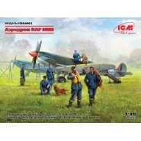 ICM DS4802 - Diorama Aerodrome RAF 2E. G.M. 1/48