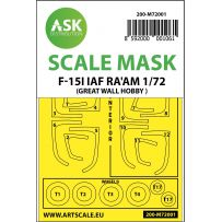F-15I IAF RA´AM double-sided painting mask for Great Wall Hobby 1/72