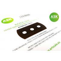 ASK Razor Saw - ultra and extra smooth asymmetric 70/43 teeth 1 pc.