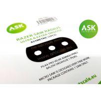 ASK Razor Saw Radius - ultra & extra smooth asymmetric 100/65 teeth 1 pc.