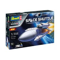 Gift Set Space Shuttle& Booster Rockets, 40th. 1/144