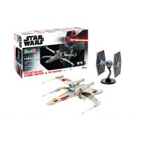 Set Collector X-Wing Fighter + TIE Fighter 1/57 et 1/65