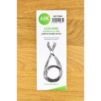 Lead Wire - Round Ø 0,3 mm x 250 mm (30 pcs)