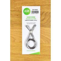 Lead Wire - Round Ø 0,9 mm x 250 mm (14 pcs)