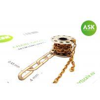 Chain: Gross - 50 cm long (brass)