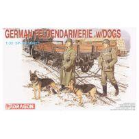 German Feldgendarmerie w/Dogs 1/35