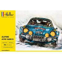 Heller 56745 - STARTER KIT Alpine A110 (1600) 1/24