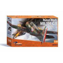 Dora Wings DW72028 - Bloch MB.152C.1 1/72