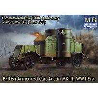 Master Box Ltd. 72007 - British Armoured Car, Austin MK III WWI 1/72