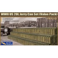 WWII US 20L Jerry Can Set (Value Pack) 1/35
