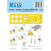 Tempest MK.II/V/VI Mask 1/32