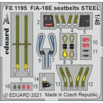 F/ A-18E seatbelts STEEL 1/48