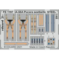 IA-58A Pucara seatbelts STEEL 1/48