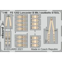 Lancaster B Mk. I seatbelts STEEL 1/48